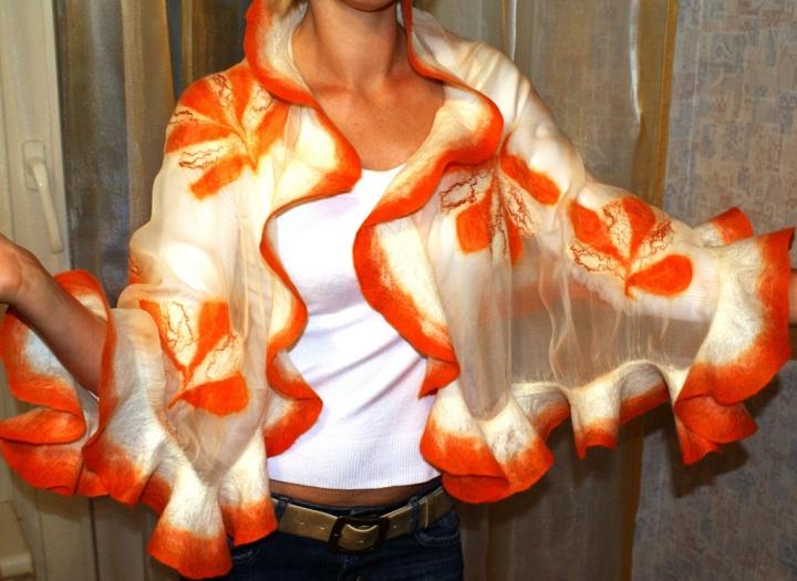 Oranžinė skraistė