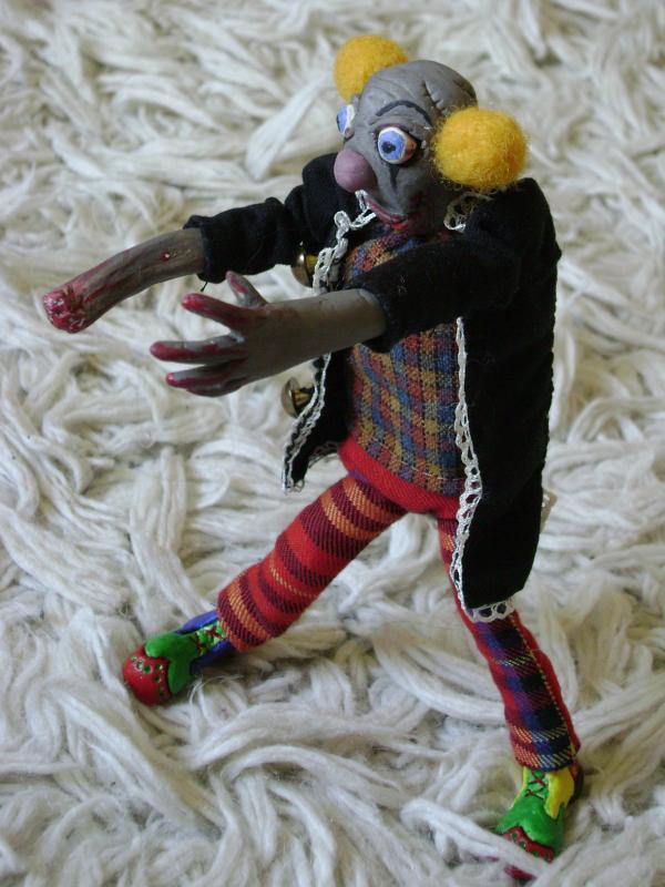 Zombis-klounas!