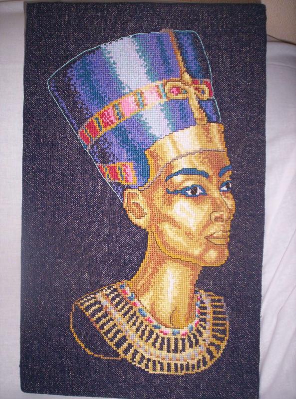 paveikslas Nefertitė