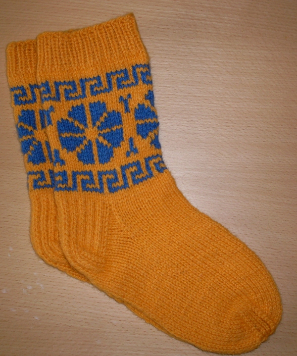 "Vilnones kojines  "" Mėlyna"""