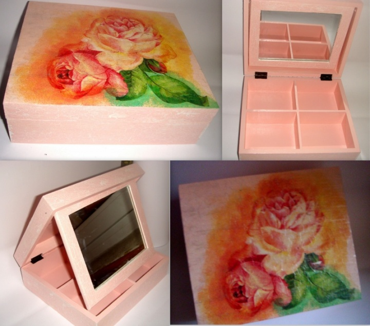 "Dėžutė ""gėlės """