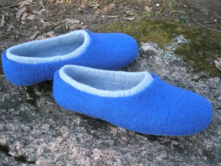 mėlynosios šlepetės