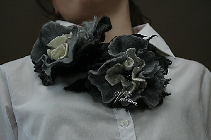 Pilkosios gėlės