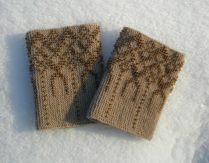 riešinės, smėlio spalvos :)