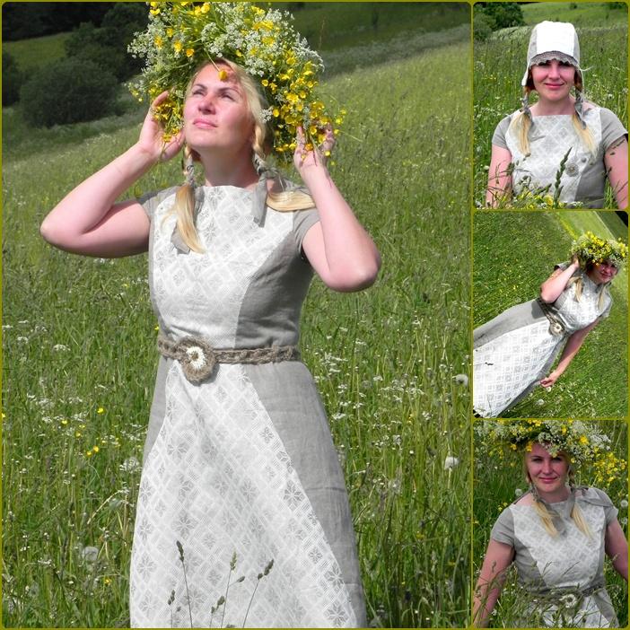 Suknelė Joninėms :)