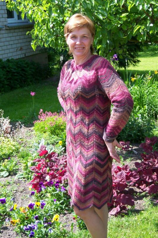 zigzagine suknele