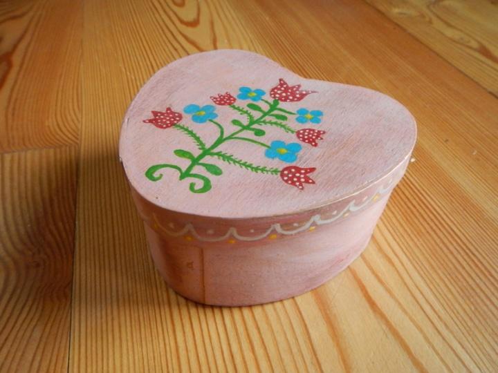 """Dėžutė-širdutė """"Lietuviškai """""""