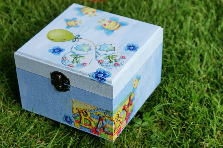Dovanų dėžutė berniukui