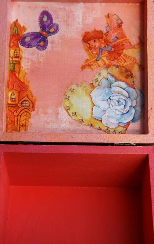 Dovanų dėžutė mergaitei
