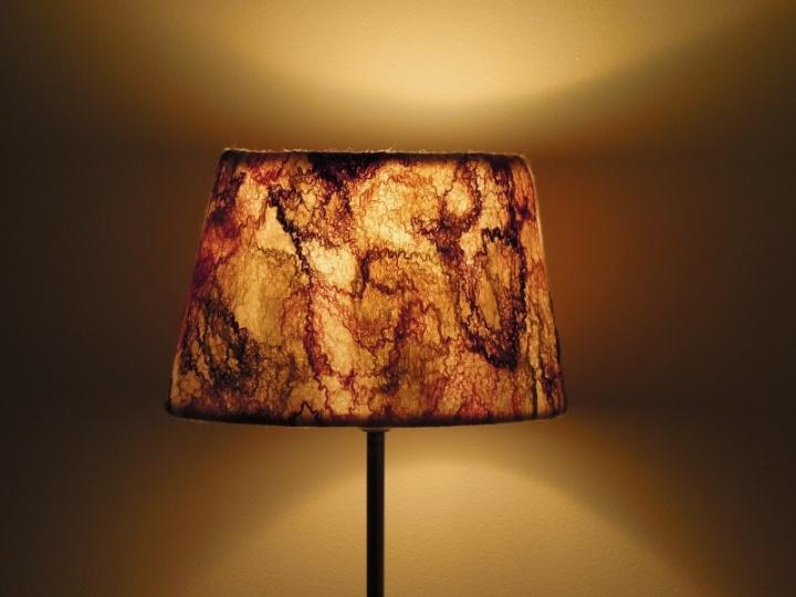 Įvairiaspalvė lempa