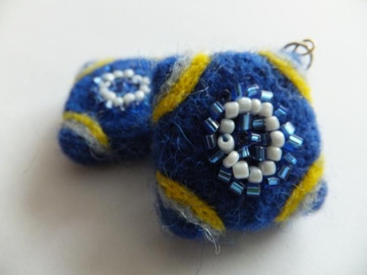 Mėlyni auskarai