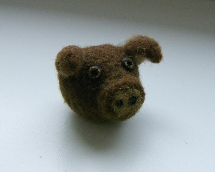 Rudas kiauliukas