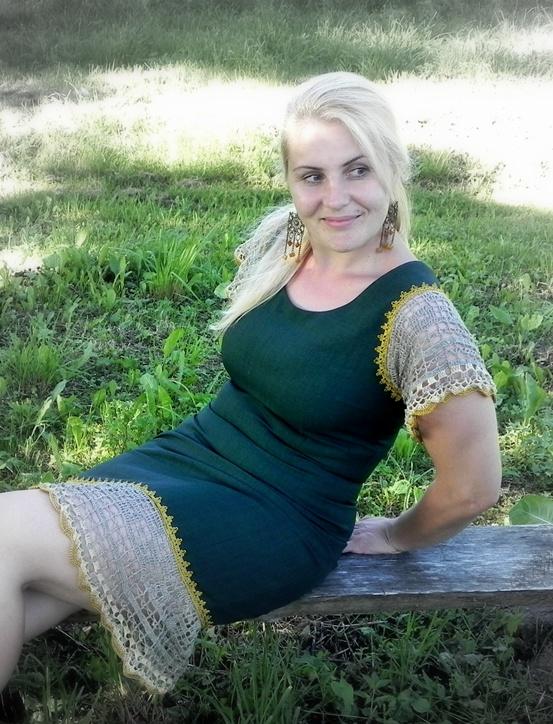 Sena suknelė naujai ;)