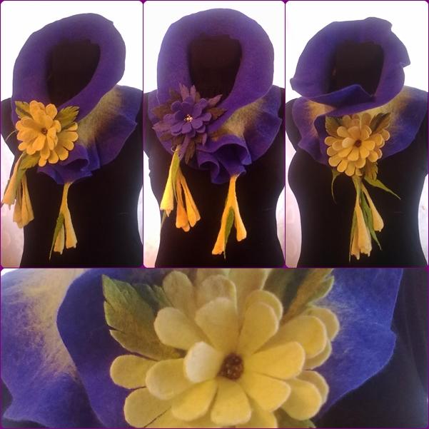 Violetinis šalikėlis
