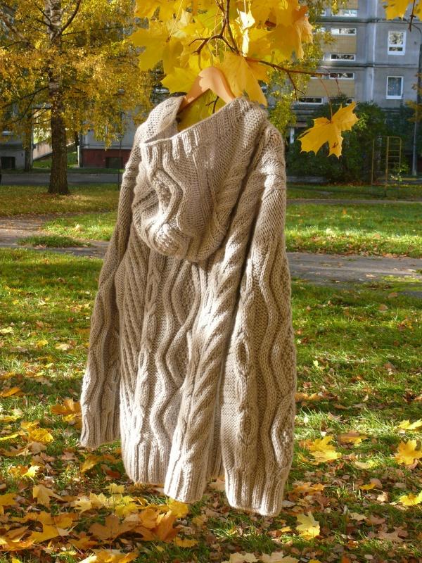 """Vyriškas megztinis """"Arano pynės """""""