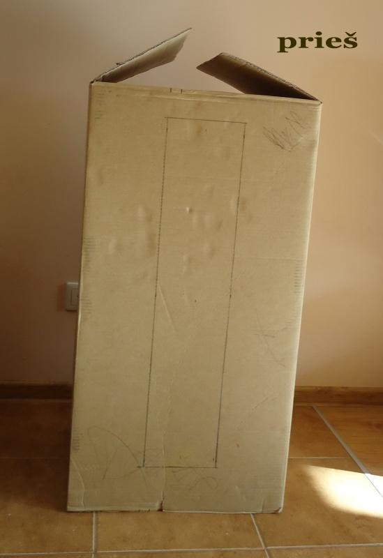 Dėžė susidėti medžiagoms