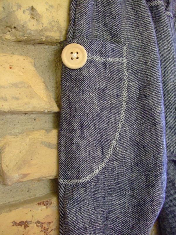 Haremo tipo kelnės su saga