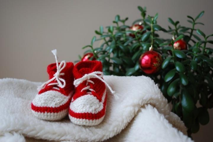 Kalėdiniai batukai