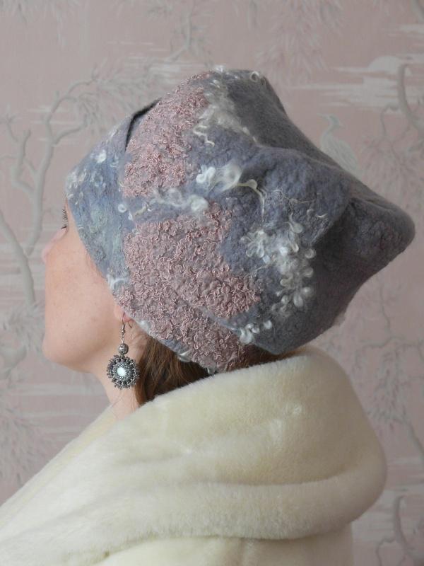 """Kepurė """" Žiemos rytas """""""