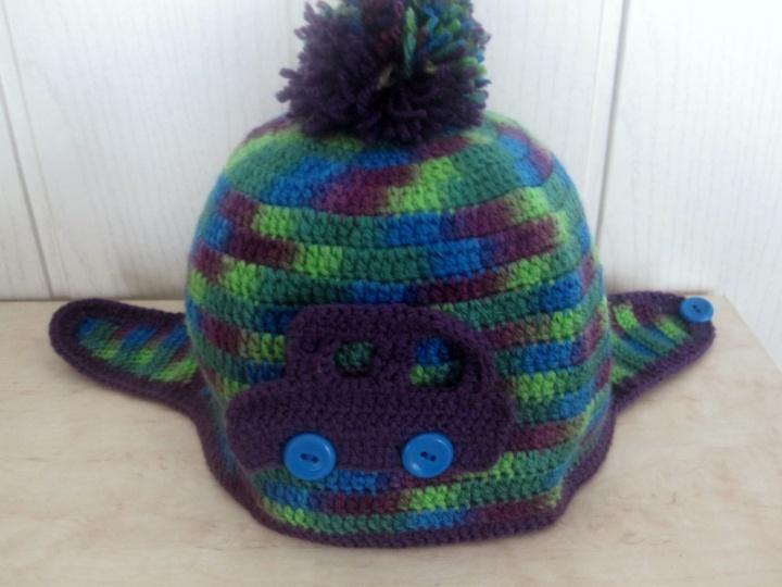 Marga kepurėlė berniukui