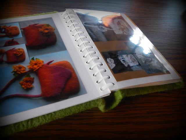 Nuotraukų albumas darbams pristatyti
