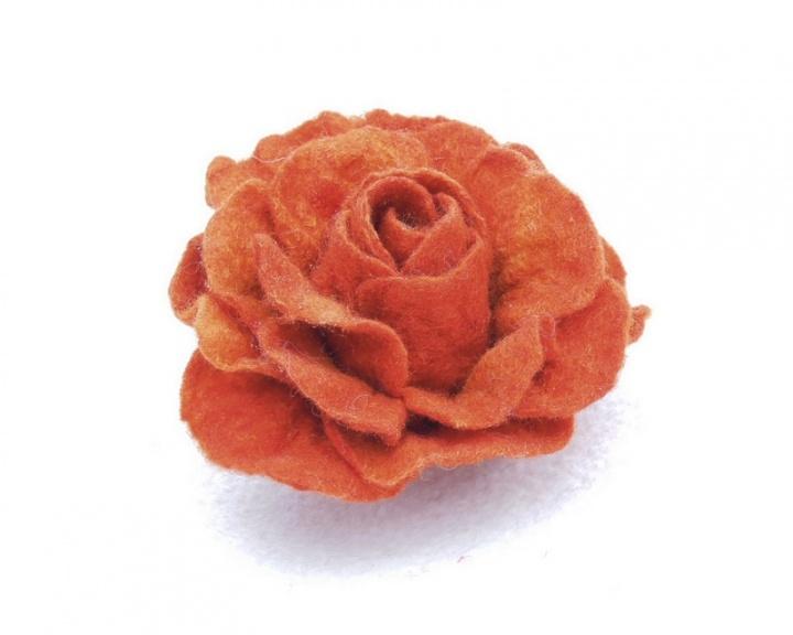 Oranžinė rožė
