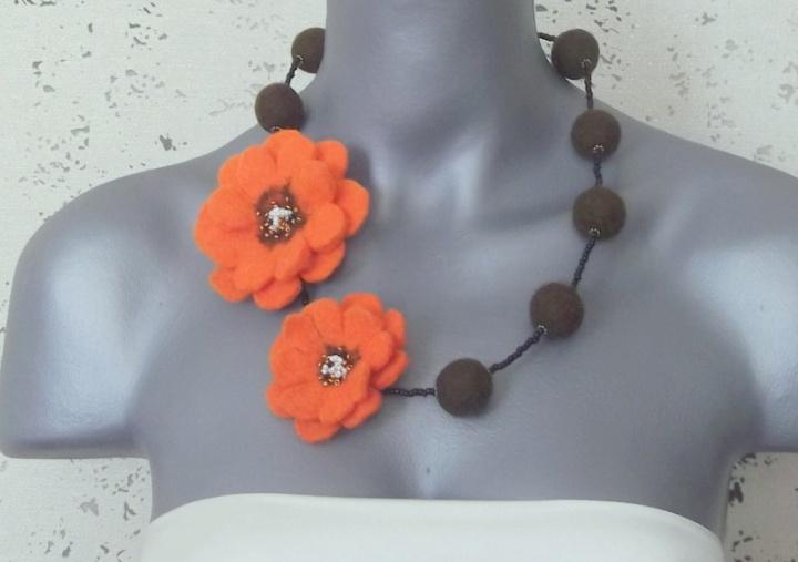 oranžinės gėlės