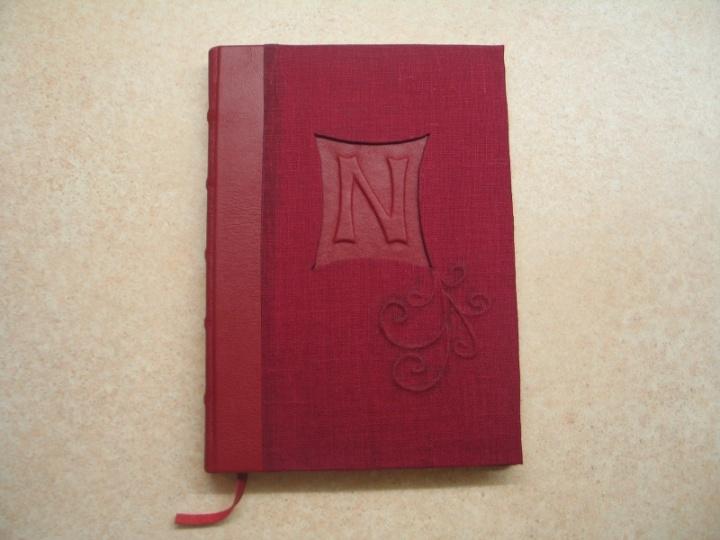 Užrašų knygutė su jūsų vardo inicialu