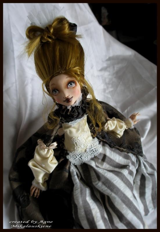Autorinė lėlė Abigailė