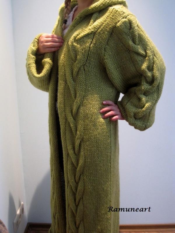 Ilgas rudeninis paltas