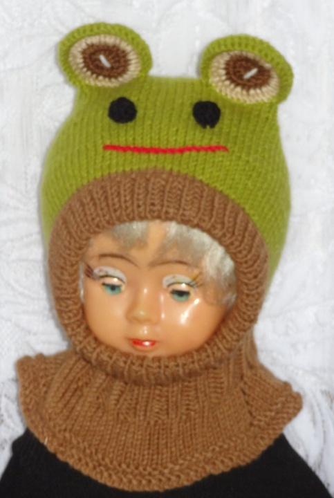 Kepurė šalmas varliukas