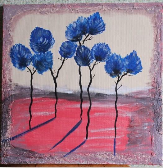 mėlyni šešėliai