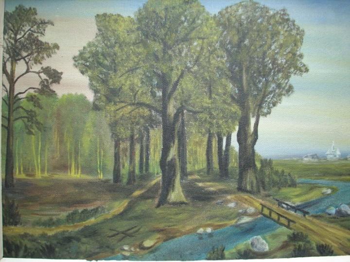 Pro senus medžius