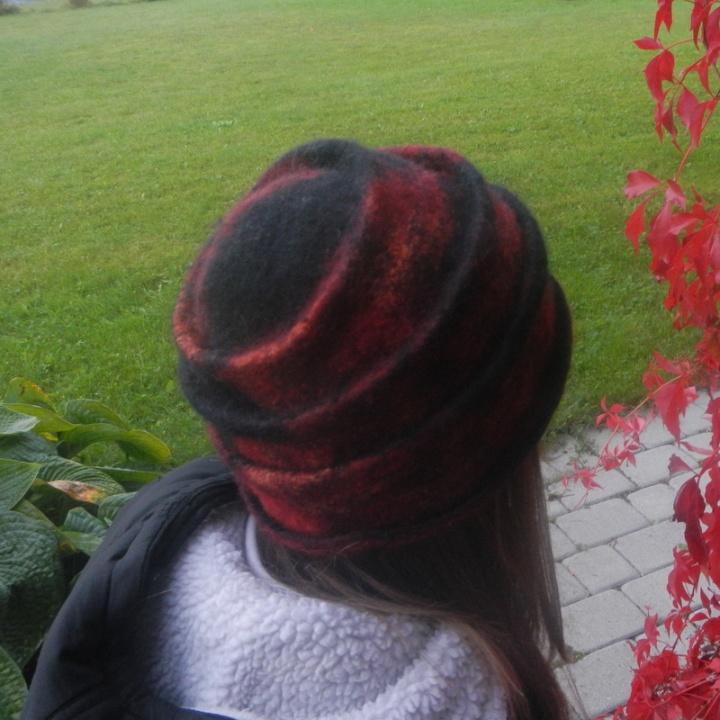 Rudens raudona