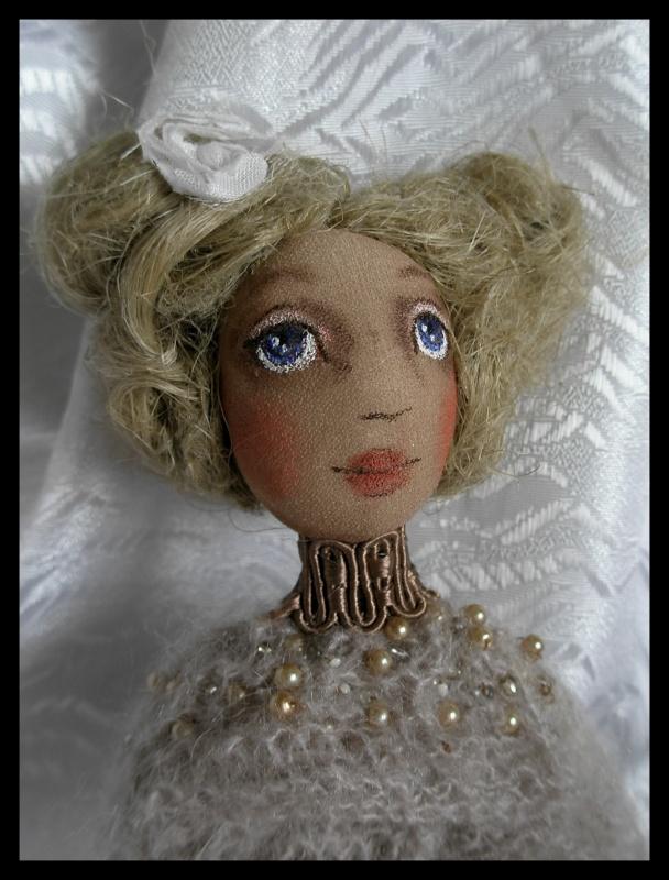 Tekstilnė lėlė - Aurelija