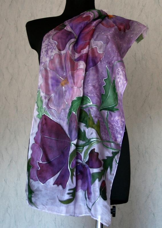 Violetinės aguonos