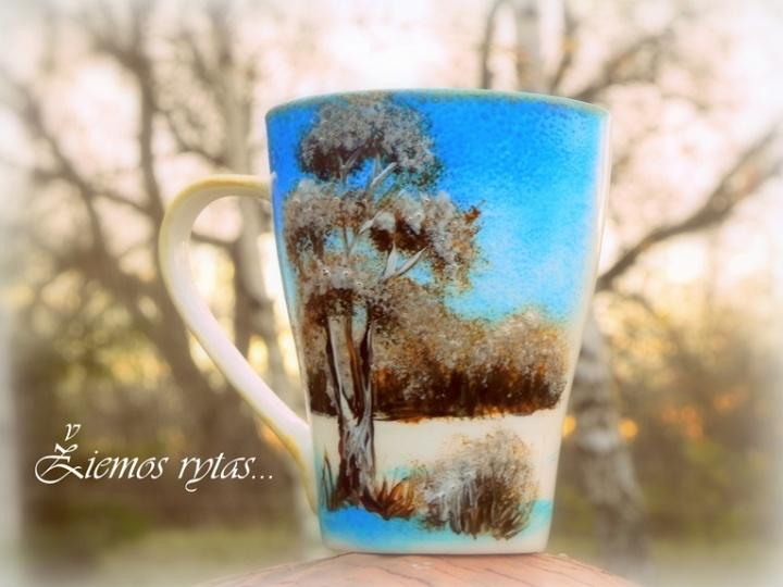 Žiemiški puodeliai
