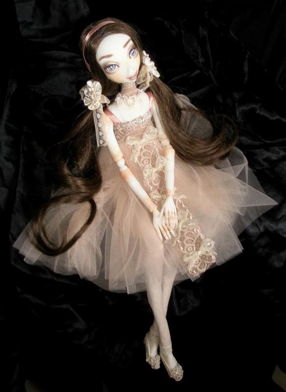 Autorinė Lėlė Mina Rey