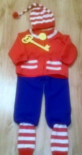 Buratiko karnavalinis kostiumas