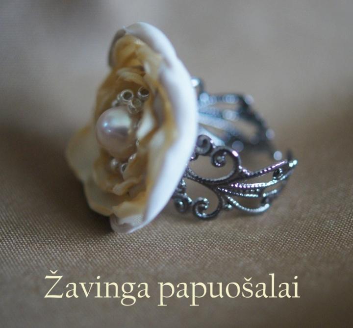 Gėlavandenių perlų komplektas