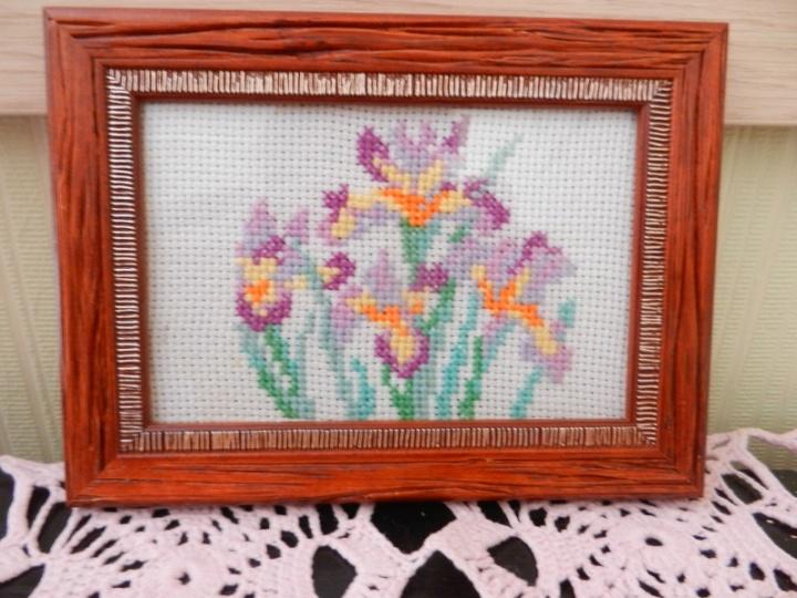Irisų puokštė