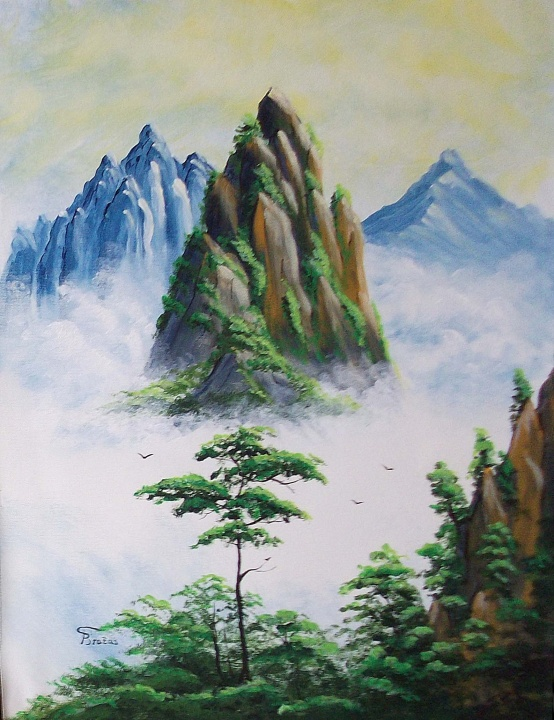 Kalnai ruke 30x40