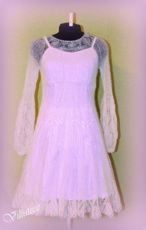 megzta mocherinė suknelė