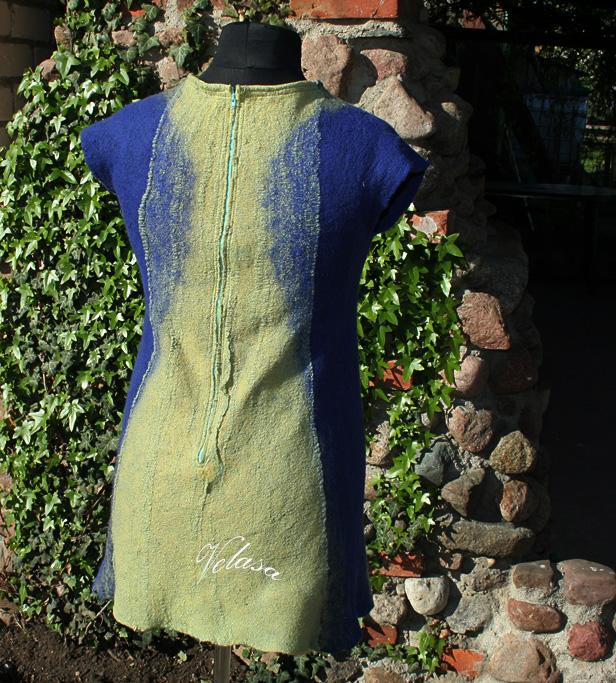 Mėlyna suknutė
