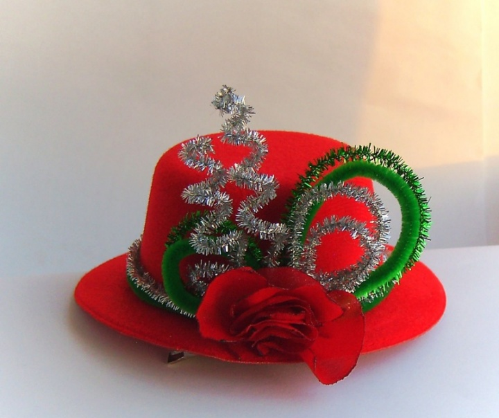 Mini skrybėlaitė Puansetija