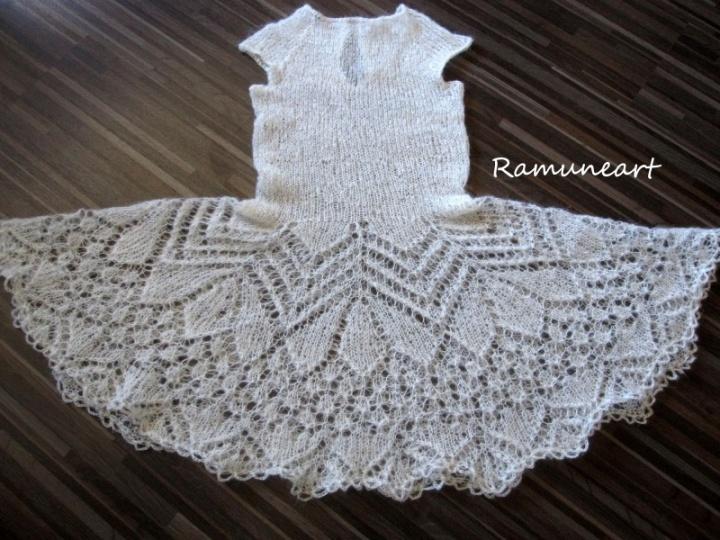 Mocherinė suknelė mergytei