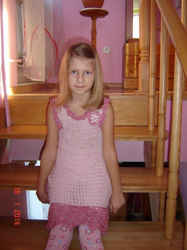 Proginė suknelė 7-8 m. mergaitei