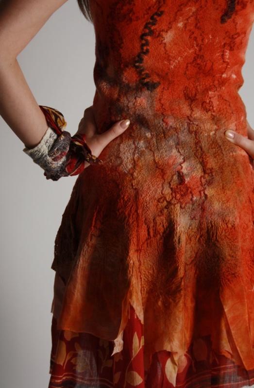 """Suknelė """"Morkų šėlsmas """""""