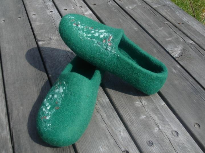 Žalia žolė.