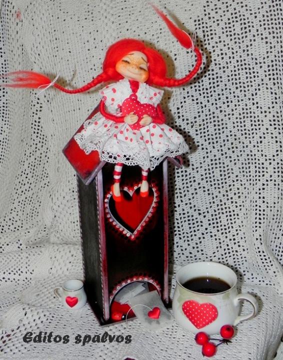 """Dėžutė arbatai """"Tikra meilė"""""""